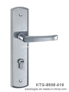 (KTG-8508-019) Satin and Polished Finish Stainless Steel Door Lock pictures & photos