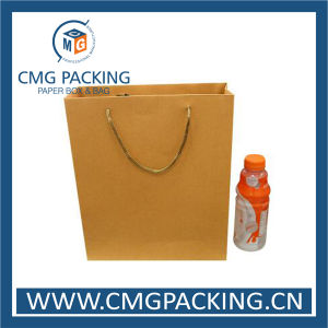 Top Quality Eco Friendly Hot Sale Kraft Paper Bag (DM-GPBB-220) pictures & photos