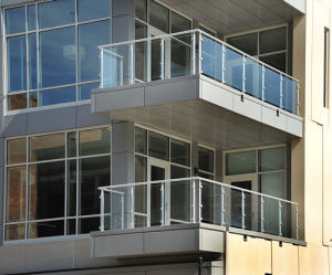 Outdoor Glass Balustrade Stainless Steel Railing pictures & photos