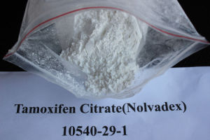 Tamoxifen Citrate (Nolvadex) Made in China 54965-24-1 pictures & photos