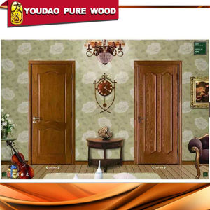Custom Size Wooden Front Double Door Design