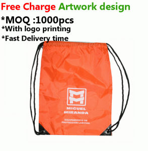 Promotional Reusable Nylon Bag with Customer Logo Design pictures & photos