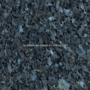 Import Granite Stone Norway Dark Blue Pearl Slab for Tiles/Countertops