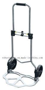 Foldable Chrome-Plated Steel Hand Truck (HT121A) pictures & photos