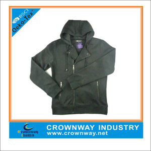 Mens Hoody Sweatshirt with Zipper Through (CW-HS-39) pictures & photos