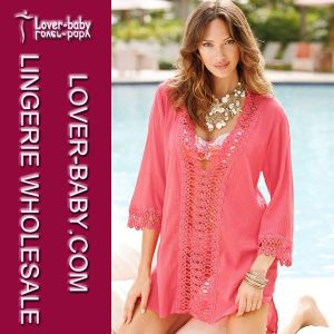 Sexy Casual Crochet Cover up (L38197-1) pictures & photos