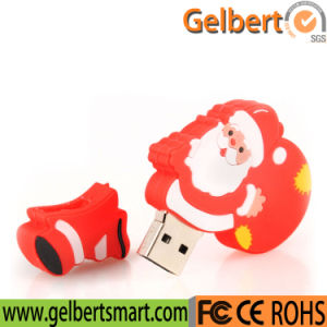 Merry Christmas Father Shape USB Memory 8GB for Promotion Gift pictures & photos