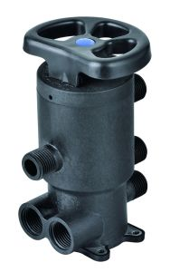 Double Flush Port Central Water Filter Valve pictures & photos