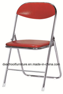 High Quality PU Leather Folding Chair for Office pictures & photos