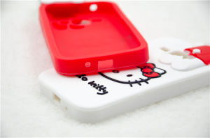 Kitty Cat Silicon Phone Case for J5 J7 P8 P9lite Mobile Phone Cover (XSK-011) pictures & photos