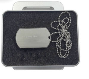 High Quality Dog Tag USB Flash Drive with Custom Printing pictures & photos