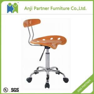 High Quatlity Elegant Modern Designer ABS Plastic Chair with 5 Star Base (Alexia) pictures & photos