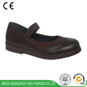 Grace Health Shoes Women′s Comfort Stretchable Fabric Casual Shoes pictures & photos