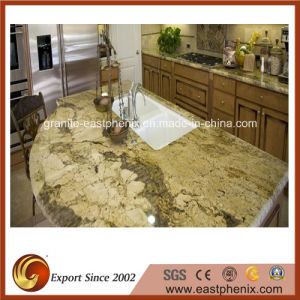 Natural Golden Granite Kitchen Table Top/Countertop pictures & photos