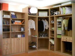 Laminate Wardrobe Designs, Wooden Bedroom Closet /Wardrobe Cabinets pictures & photos
