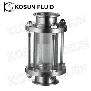 Stainless Steel in Line Glass Tube Flow Glass Sight Glass pictures & photos