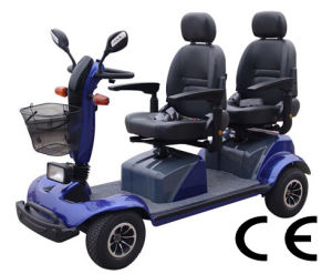 Two Seat Electric Mobility Scooters D413f pictures & photos