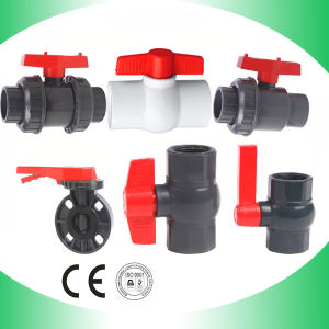 Ball Valve Factory PVC Ball Valves pictures & photos