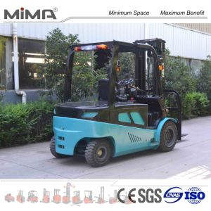 4-Wheel Electric Forklift 5.0t Tk450 pictures & photos