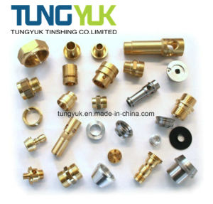 CNC Turning Machining Parts with Copper & Brass pictures & photos