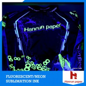 Neon Fluorescent Dye Sublimation Ink Yellow / Magenta for Sublimation Fabric, Comparison with Kiian/Sawgrass/J-Teck,