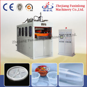 Hydraulic Plastic Thermoforming Machine for Drinking Cup pictures & photos