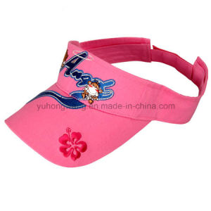 Hot Sale Lady Sun Cap/Visor, Sun Hats pictures & photos