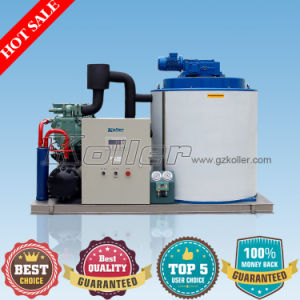 Large Capacity Flake Ice Making Machine Kp50 for Storage of Fish and Chicken pictures & photos