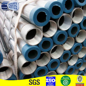 Galvanized Steel Pipe with Screwed pictures & photos