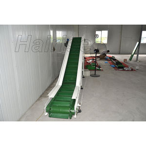 PVC Belt Conveyor Inclining Conveyor for Inclining Conveyor System pictures & photos