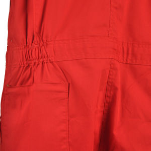 2016 Red One Piece Cheap Work Clothes Summer Coveralls for Men pictures & photos