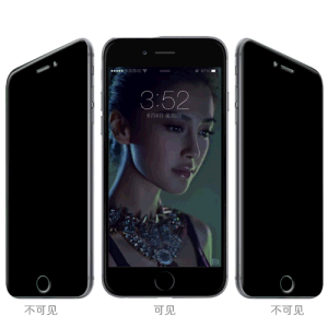 Privacy Glass Tempered Screen Protector for iPhone 6 Plus pictures & photos