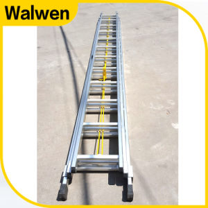 Triple Aluminum Multi-Functional Telescopic Rope Ladder pictures & photos