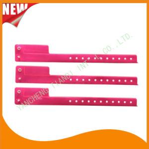 Entertainment 1 Tab Vinyl Wristbands ID Bracelet (E6070-1-12) pictures & photos
