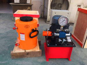 Double Acting Plunger Lifting Hydraulic Jack 80ton pictures & photos