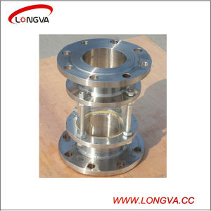 Sanitary Stainless Steel Straight Pipeline Sight Glass pictures & photos