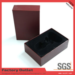 New Design Paper Perfume Box with PVC Tray