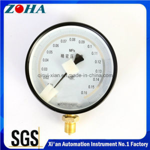 Calibration Use Precision Pressure Gauges 0.16MPa with Accuracy 0.25% pictures & photos