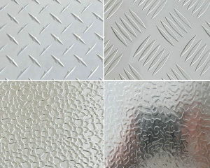Different Aluminium Stucco Embossed Plate for Refrigeratory