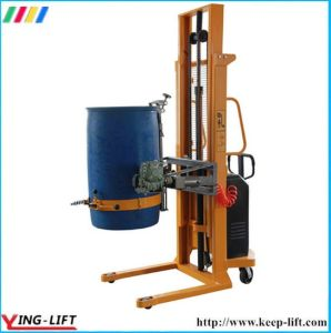 Electric Lift Drum Rotator with Battery Power Yl450 pictures & photos