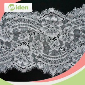 Trial Order Acceptable Hot Sell French Eyelash Lace for Wedding pictures & photos