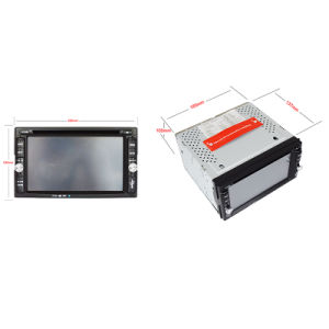 6.2inch Double DIN 2DIN Car DVD Player with Wince System Ts-2009-2 pictures & photos