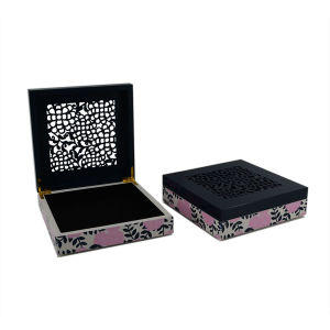 Wooden Flower Jewelry MDF Box with Laser for Gift (628200) pictures & photos