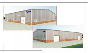 Precast Warehouse Steel Frame Steel Structure Shed (JW-16290) pictures & photos