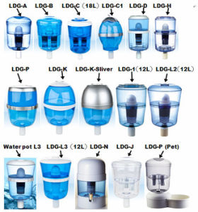 Easy and Portable Silver Plastic Drinking Water Bottle Purifier pictures & photos