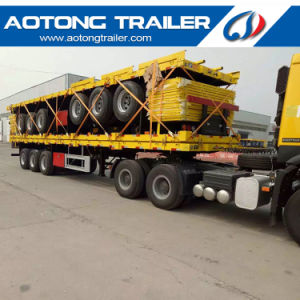 20FT / 40FT Skeleton Chassis Semi Trailer for Container Carrier pictures & photos