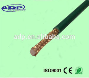 7 Number of Conductor Coaxial Cable Kx6 with Green PVC pictures & photos