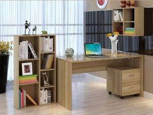 Wooden L Shaped Table Wholesale Computer Desk Specifications (SZ-CDT041-3) pictures & photos