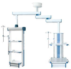 Medical Equipment Tower Crane Arm Medical Pendant Triple-Arm Pendent (Model ECOH057) pictures & photos