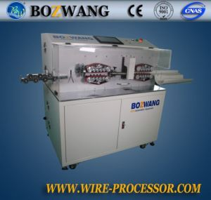 Bw-882dk-120 Computerized Cutting and Stripping Machine for 120mm2 Cable with Rotary Tool pictures & photos